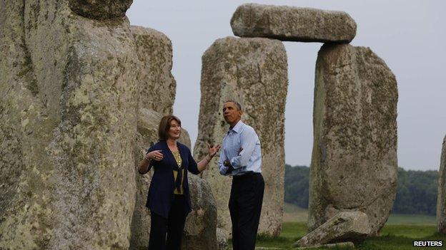 president stonehenge